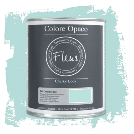 Fleur Chalky Look Cape Town Blue 750ml - Chalk Paint Las Auténticas
