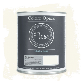 Fleur Chalky Look Chalk White 750ml - Chalk Paint Las Auténticas