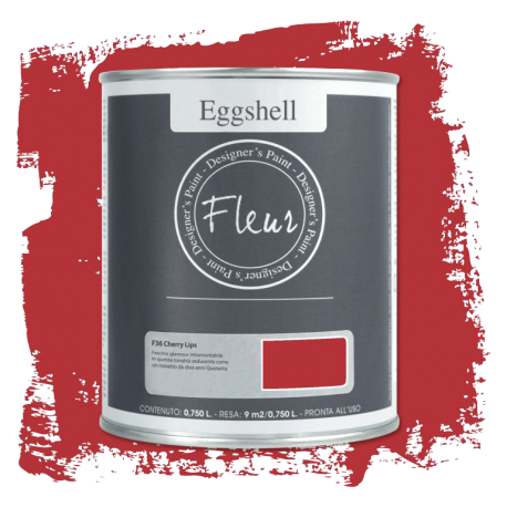 Fleur Chalky Look Eggshell Cherry Lips 750ml – Chalk Paint Las Auténticas