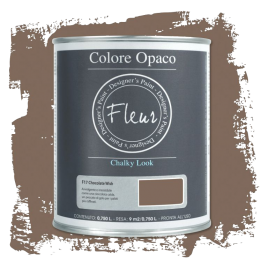 Fleur Chalky Look Chocolate Wish 750ml - Chalk Paint Las Auténticas