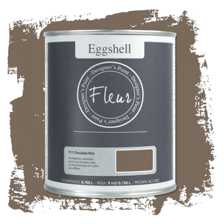 Fleur Chalky Look Eggshell Chocolate Wish 750ml – Chalk Paint Las Auténticas