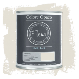 Fleur Chalky Look Dove Grey 750ml - Chalk Paint Las Auténticas