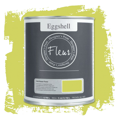 Fleur Chalky Look Eggshell Flower Power 750ml – Chalk Paint Las Auténticas