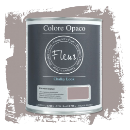 Fleur Chalky Look Indian Elephant 750ml - Chalk Paint Las Auténticas
