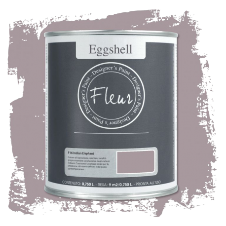 Fleur Chalky Look Eggshell Indian Elephant 750ml – Chalk Paint Las Auténticas
