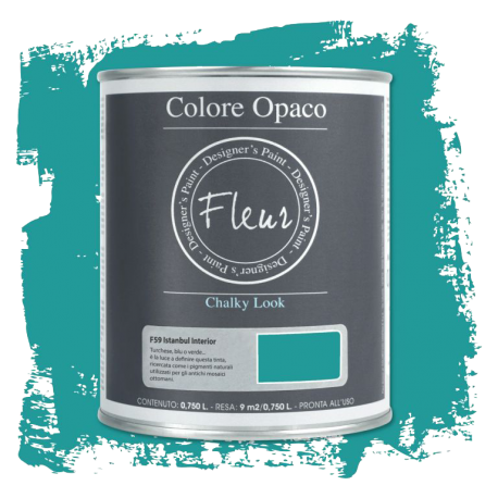 Fleur Chalky Look Istambul Interior 750ml - Chalk Paint Las Auténticas