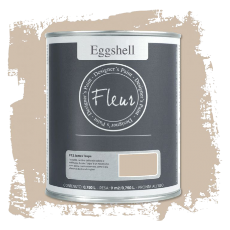 Fleur Chalky Look Eggshell James Taupe 750ml – Chalk Paint Las Auténticas