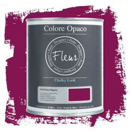 Fleur Chalky Look Primary Magenta 750ml - Chalk Paint Las Auténticas