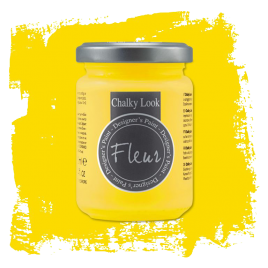Fleur Chalky Look Primary Yellow 130ml