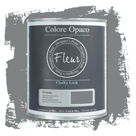Fleur Chalky Look Smoky 750ml - Chalk Paint Las Auténticas
