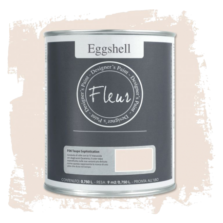 Fleur Chalky Look Eggshell Taupe Sophistication 750ml - Chalk Paint Las Auténticas